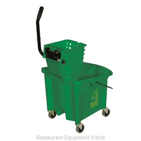 Continental 335-312GN Mop Bucket/Wringer Combination