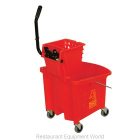 Continental 335-312RD Mop Bucket Wringer Combination