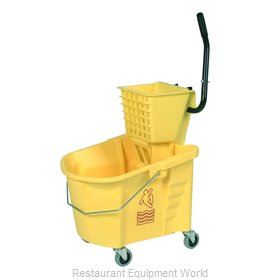 Continental 335-312YW Mop Bucket Wringer Combination