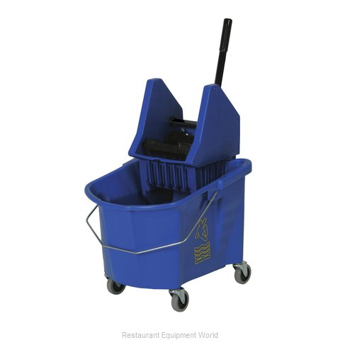 Continental 335-37BL Mop Bucket Wringer Combination