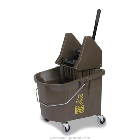 Continental 335-37BZ Mop Bucket Wringer Combination (Magnified)
