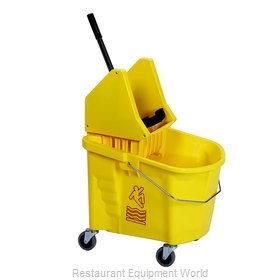 Continental 335-37YW Mop Bucket Wringer Combination