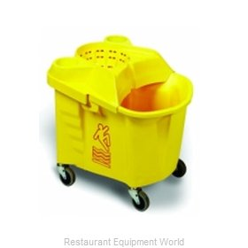 Continental 335-9YW Mop Bucket Wringer Combination