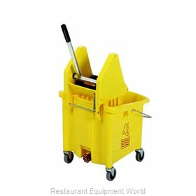 Continental 336-37YW Mop Bucket Wringer Combination