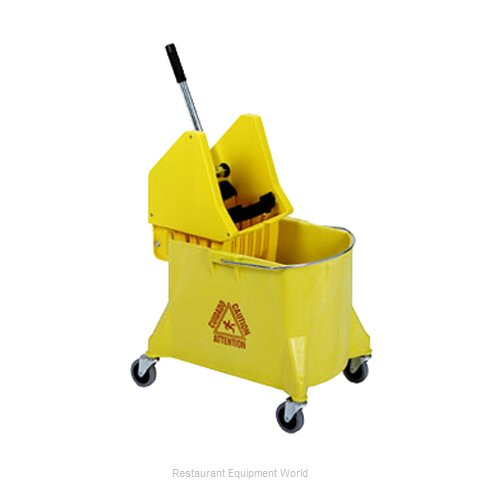 Continental 404-37YW Mop Bucket Wringer Combination