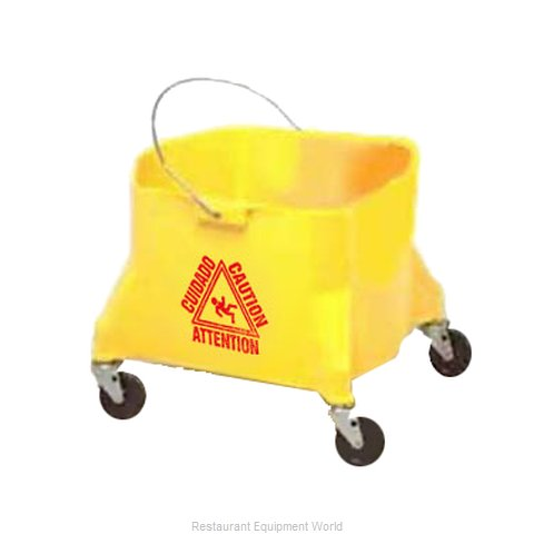 Continental 404-3YW Mop Bucket (Magnified)