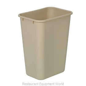 Continental 4114BE Waste Basket, Plastic