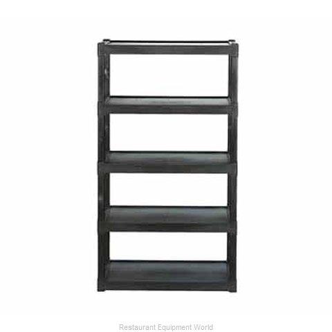 Continental 4418-5GY Shelving Unit Plastic