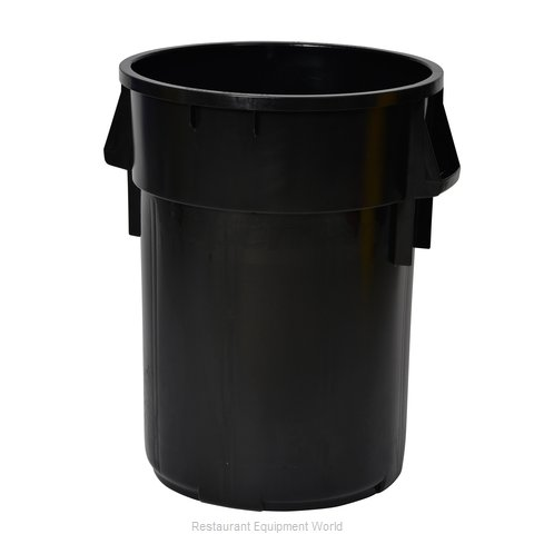Continental 4442BK Trash Garbage Waste Container Stationary