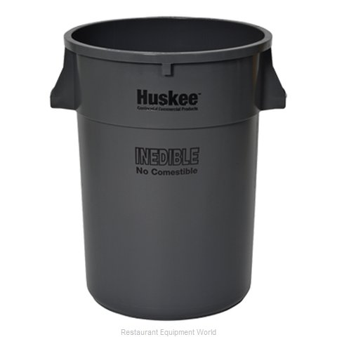 Continental 4444GYINED Trash Can / Container, Commercial