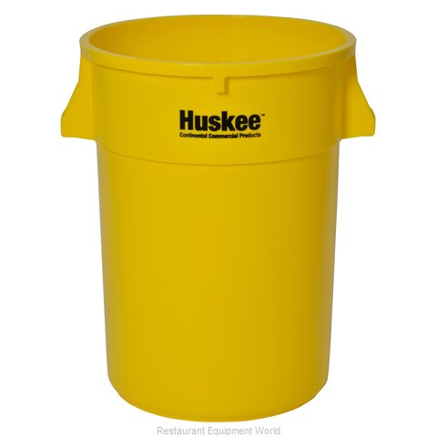 Continental 4444YW Trash Garbage Waste Container Stationary