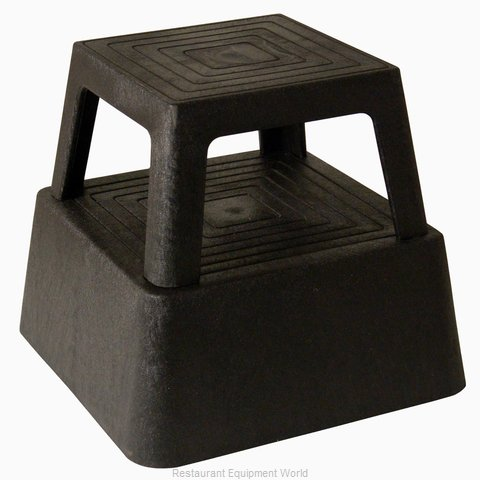 Continental 523BK Step Stool (Magnified)
