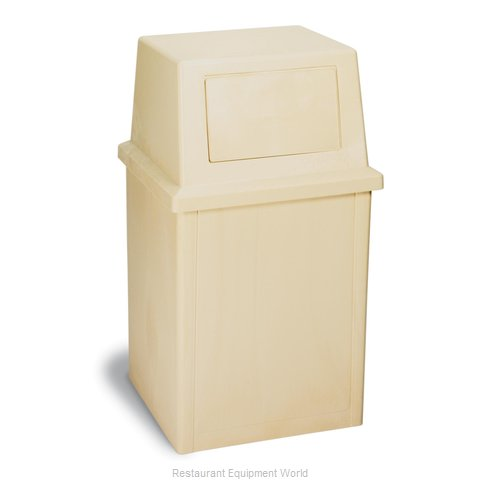 Continental 5735BE Trash Garbage Waste Container Stationary