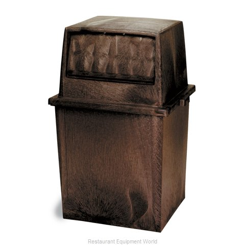 Continental 5750BN Trash Receptacle, Indoor