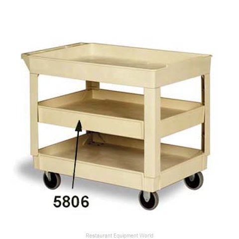 Continental 5806BE Utility Cart Shelf