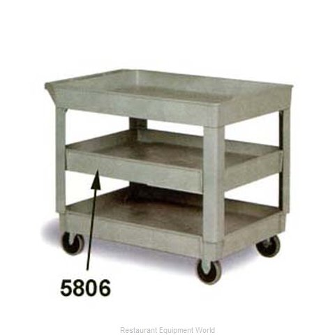 Continental 5806GY Utility Cart Shelf