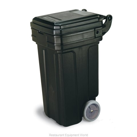 Continental 5850BK Trash Garbage Waste Container Mobile