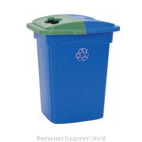 Continental 645-1 Waste Receptacle Recycle