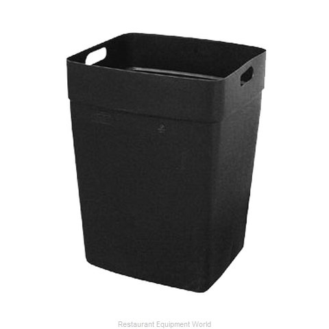 Continental 6451BK Rigid Liner for Garbage Can