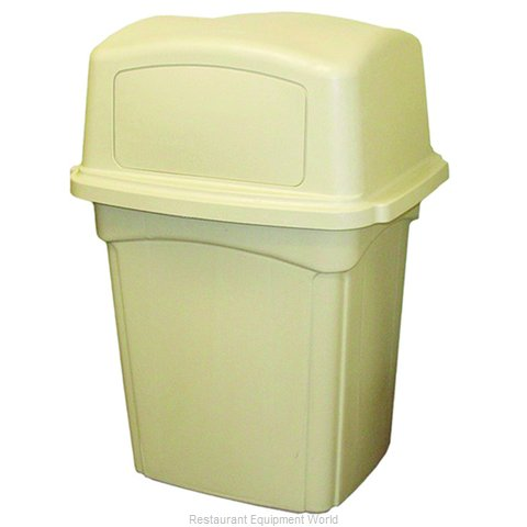 Continental 6452BE Trash Receptacle, Indoor