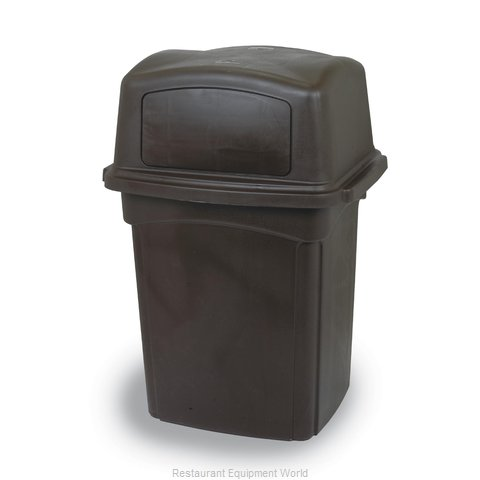 Continental 6452BN Trash Receptacle, Indoor
