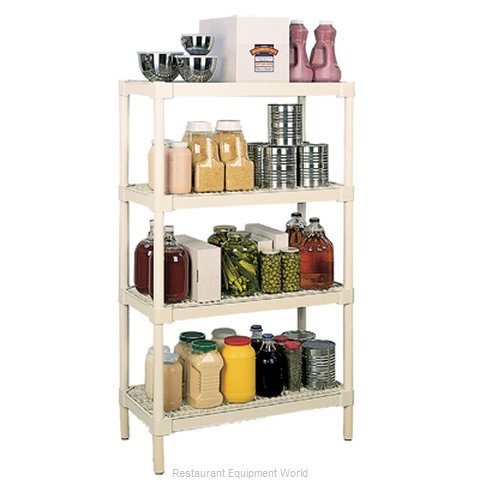 Continental 6485OY Shelving Unit Plastic