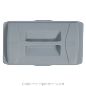 Continental 7315GY Trash Receptacle Lid / Top
