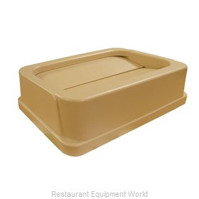 Continental 7325BE Cover Garbage Waste Receptacle Can