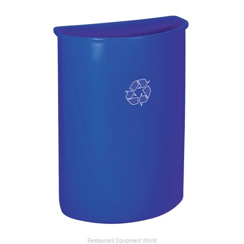 Continental 8321-1 Trash Garbage Waste Container Stationary