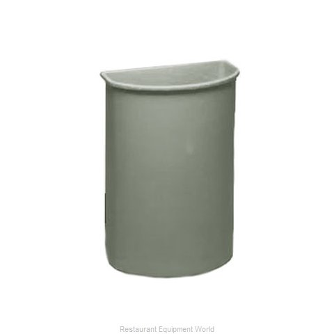 Continental 8321GY Trash Garbage Waste Container Stationary
