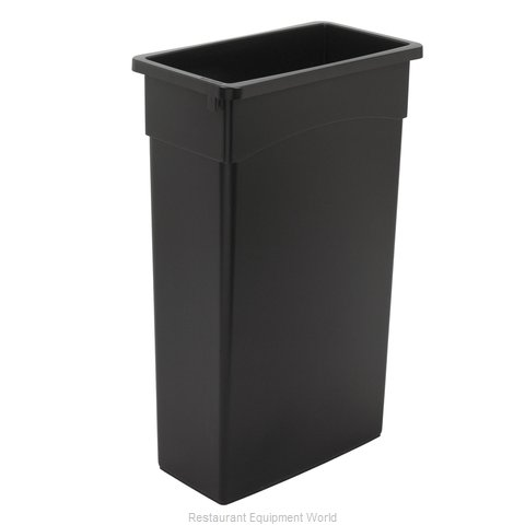 Continental 8322BK Trash Garbage Waste Container Stationary