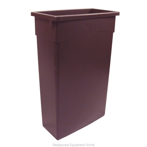 Continental 8322BN Trash Garbage Waste Container Stationary