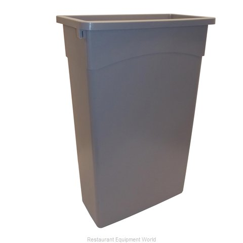 Continental 8322GY Trash Garbage Waste Container Stationary