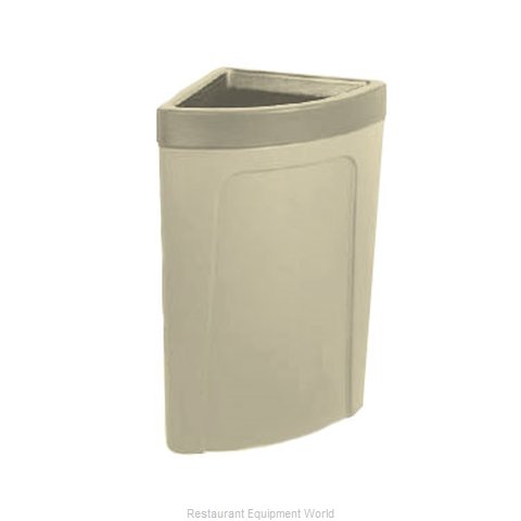 Continental 8324BE Trash Garbage Waste Container Stationary