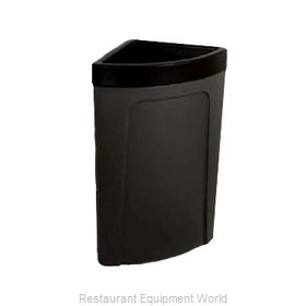 Continental 8324BK Waste Receptacle Recycle