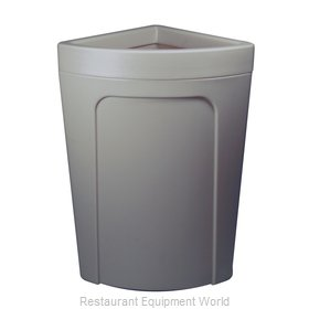 Continental 8324GY Recycling Receptacle / Container