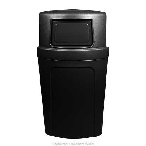 Continental 8325BK Waste Receptacle Recycle