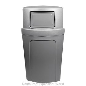 Continental 8325GY Recycling Receptacle / Container