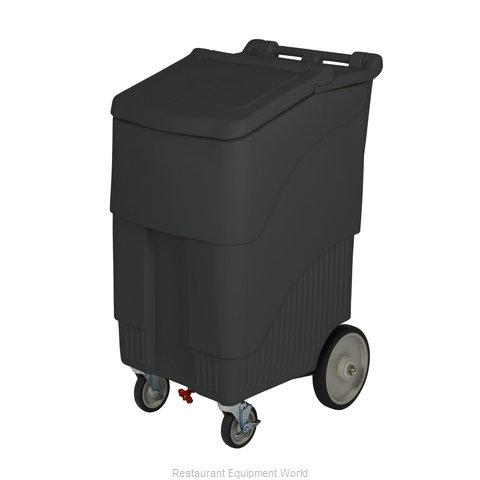 Continental 9720BK Ice Bin Chest Mobile