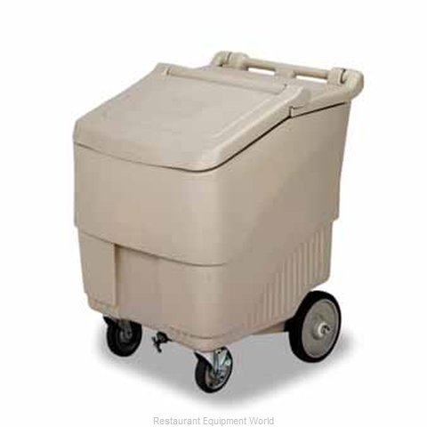 Continental 9725BE Ice Bin Chest Mobile