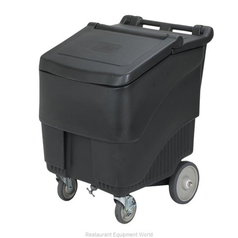 Continental 9725BK Ice Bin Chest Mobile
