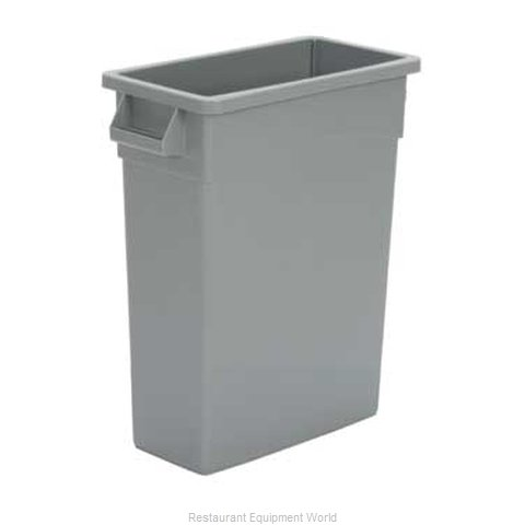 Continental H8316BK Trash Garbage Waste Container Stationary