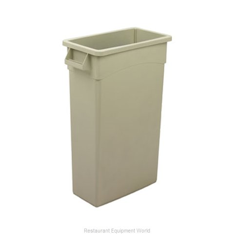 Continental H8322BE Trash Garbage Waste Container Stationary