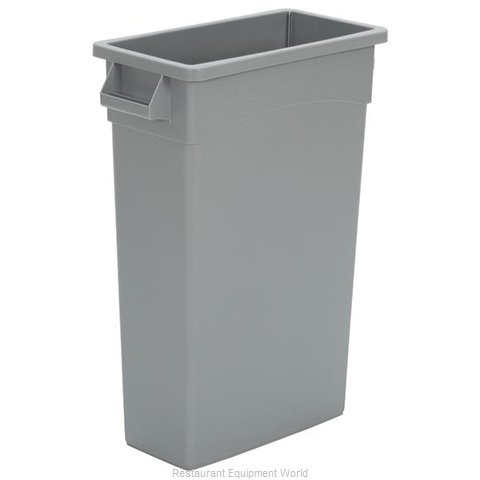 Continental H8322GY Trash Receptacle, Indoor