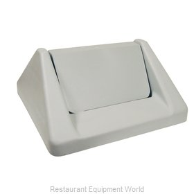 Continental T1600GY Trash Receptacle Lid / Top