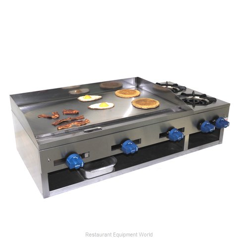 Comstock Castle 10201 Griddle Hotplate Counter Unit Gas