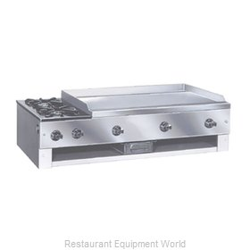 Comstock Castle 10202 Griddle / Hotplate, Gas, Countertop