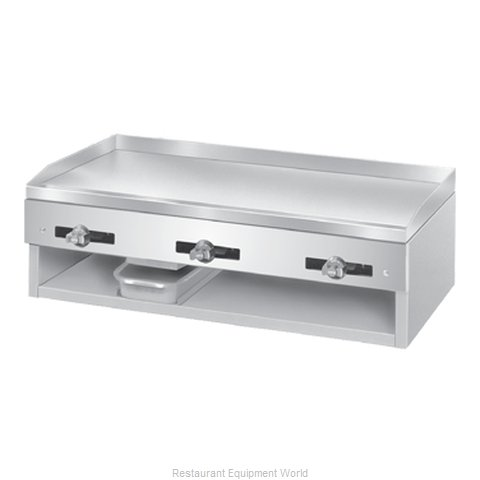 Comstock Castle 1048 Griddle Counter Unit Gas (Magnified)