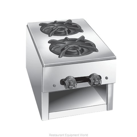 Comstock Castle 1091 Hotplate, Countertop, Gas