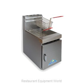 Comstock Castle 10HC Fryer, Gas, Countertop Full Pot